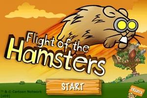 Летающие хомяки flash игра